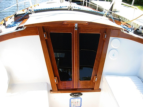 Catalina Only Companionway Doors Retrofit Windows